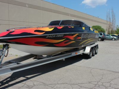 Image of Fast and Furious Boat Graphics |Niagara Boat Graphics | Niagara Signs