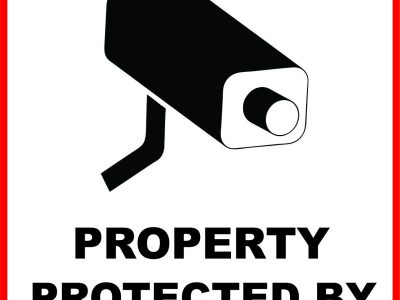 Image of a Security Camera Sign |Surveillance Sign | Niagara Signs