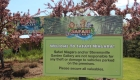 Image of Outdoor Park Notice Sign at Safari Niagara in Fort Erie Ontario | Niagara