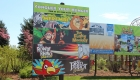 Image of Outdoor Park Promotional Sign at Safari Niagara in Fort Erie Ontario | Niagara