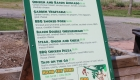 Image of a Menu Sign at Safari Niagara in Fort Erie Ontario | Niagara