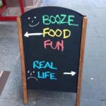 Image of Funny Sign|Sandwich Board Niagara