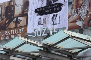 Image of Fabricated Channel Letters at Suzy Sheir  Canada One Outlet Mall